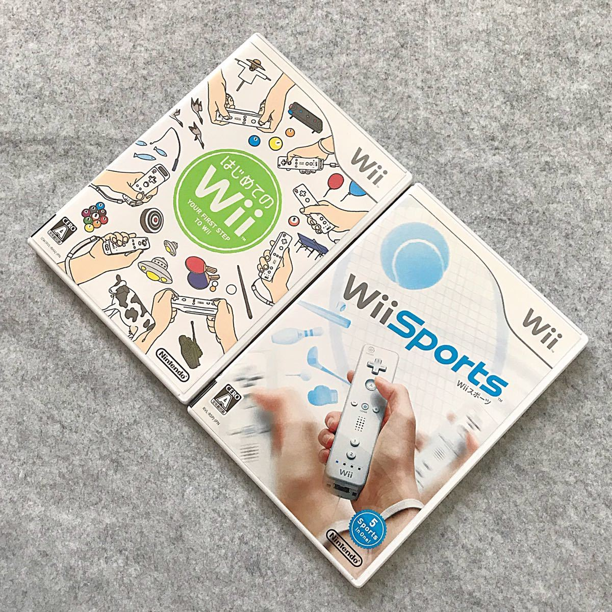 【Wiiソフト】はじめてのWii、Wii Sportsセット