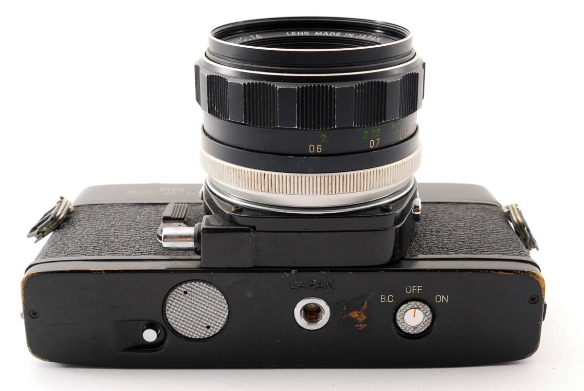 送料無料・動作品★minoltaフィルムカメラ★minolta ミノルタ SRT101 MC ROKKOR-PF 1:1.4 f=58mm レンズ ボディ フィルムカメラ現状品_画像6