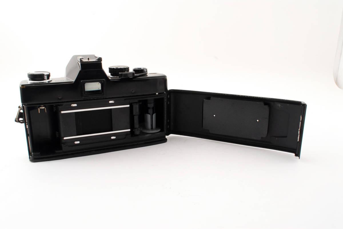 送料無料・動作品★minoltaフィルムカメラ★minolta ミノルタ SRT101 MC ROKKOR-PF 1:1.4 f=58mm レンズ ボディ フィルムカメラ現状品_画像8