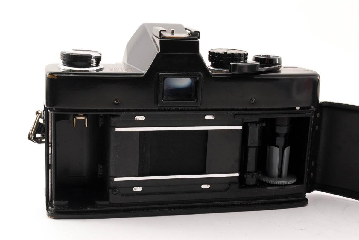 送料無料・動作品★minoltaフィルムカメラ★minolta ミノルタ SRT101 MC ROKKOR-PF 1:1.4 f=58mm レンズ ボディ フィルムカメラ現状品_画像9