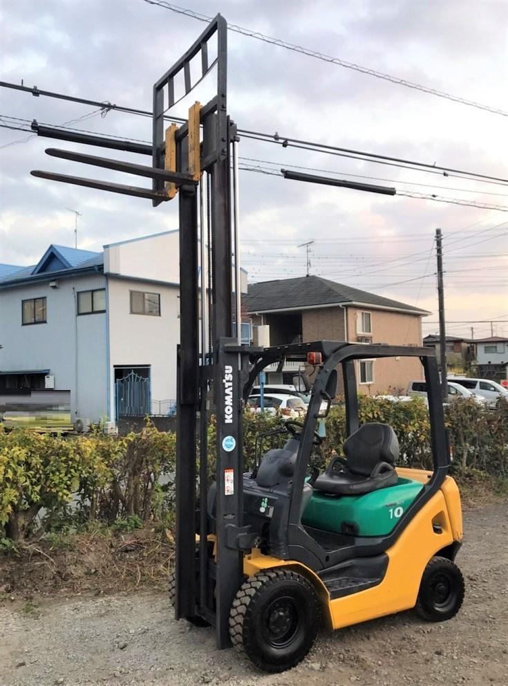 「★点検済★ コマツ 1トン フォークリフト リフト Forklift KOMATSU 1000kg コンパクト 建機 程度良好 格安!」の画像2