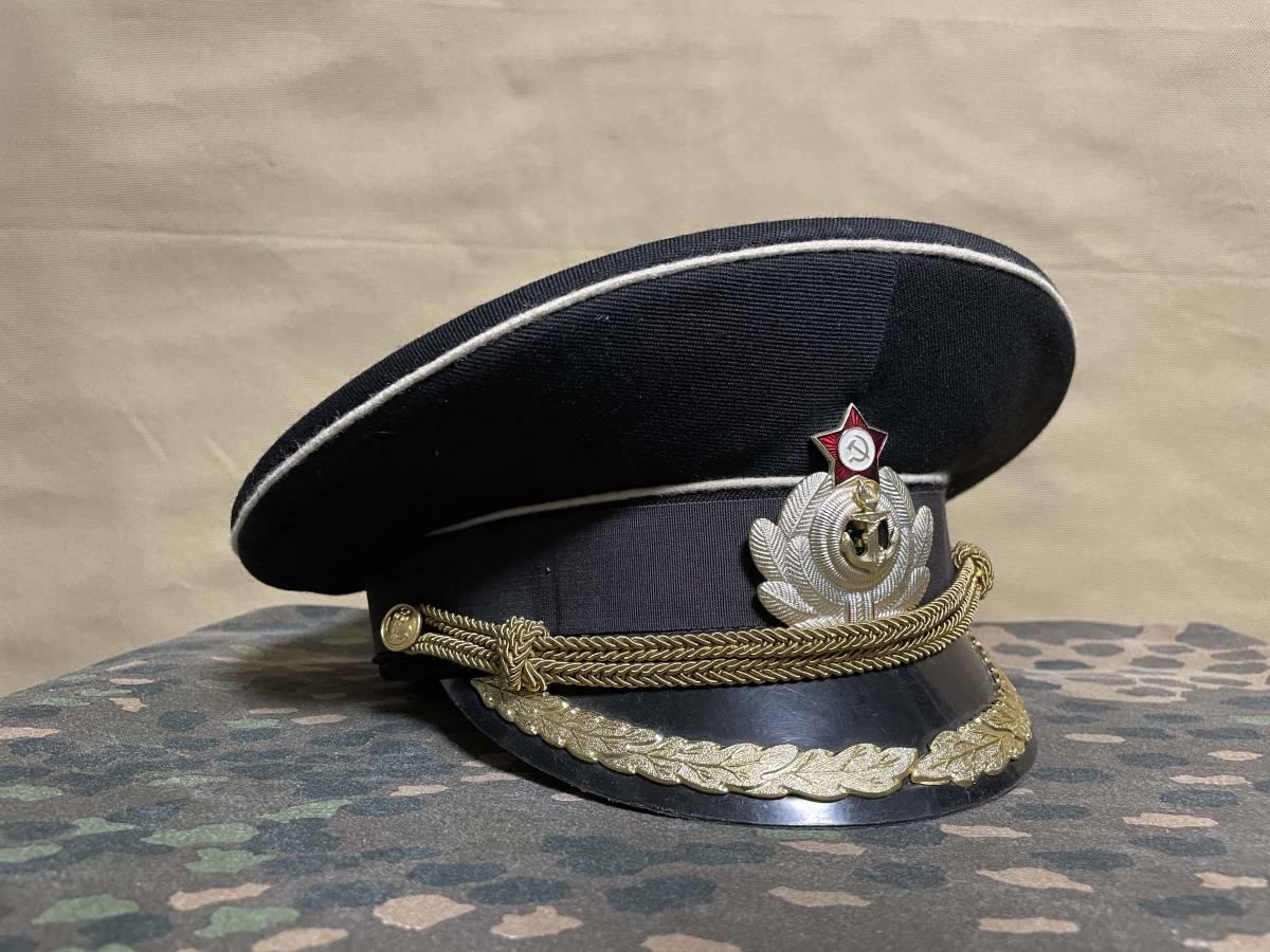 ソビエト連邦 ソビエトロシア海軍 海軍少佐 ジャケット・シャツ・ネクタイ・制帽 セット 実物 放出品 中古品 徽章類込_画像7