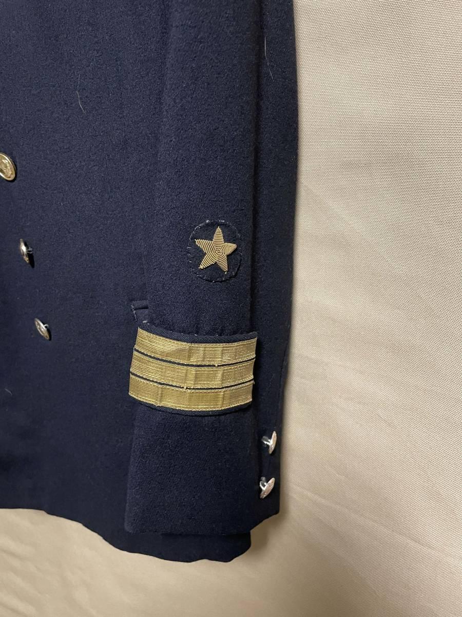 ソビエト連邦 ソビエトロシア海軍 海軍少佐 ジャケット・シャツ・ネクタイ・制帽 セット 実物 放出品 中古品 徽章類込_画像4
