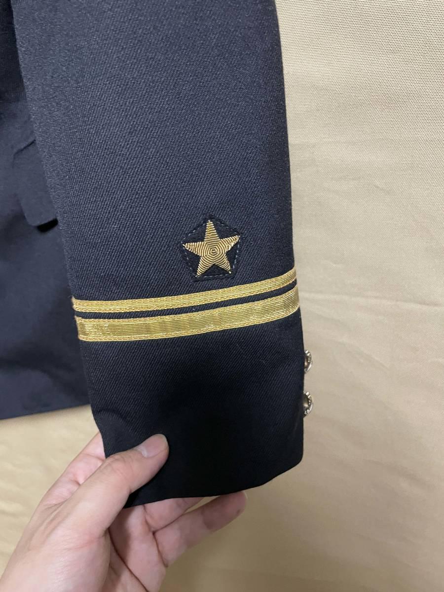 ソビエト連邦 ソビエトロシア海軍 海軍少尉 ジャケット 実物 放出品 USSR CCCP ソ連 海軍 中古品 徽章 セット_画像5