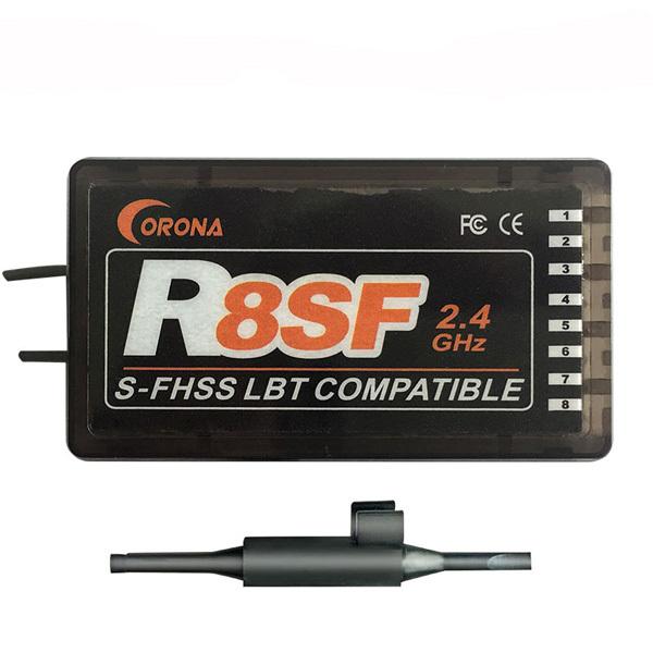 ★CORONA 2.4Ghz 8ch 受信機 S-FHSSフタバ対応 R8SF_画像1