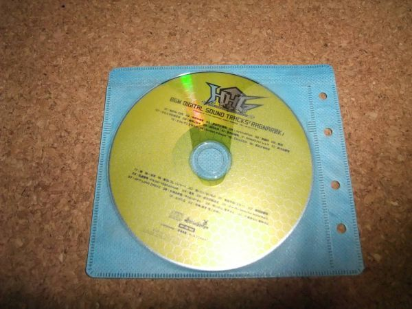 [CD][送100円~] HHG 女神の終焉 BGM DIGITAL SOUND TRACKS RAGNAROK 初回特典