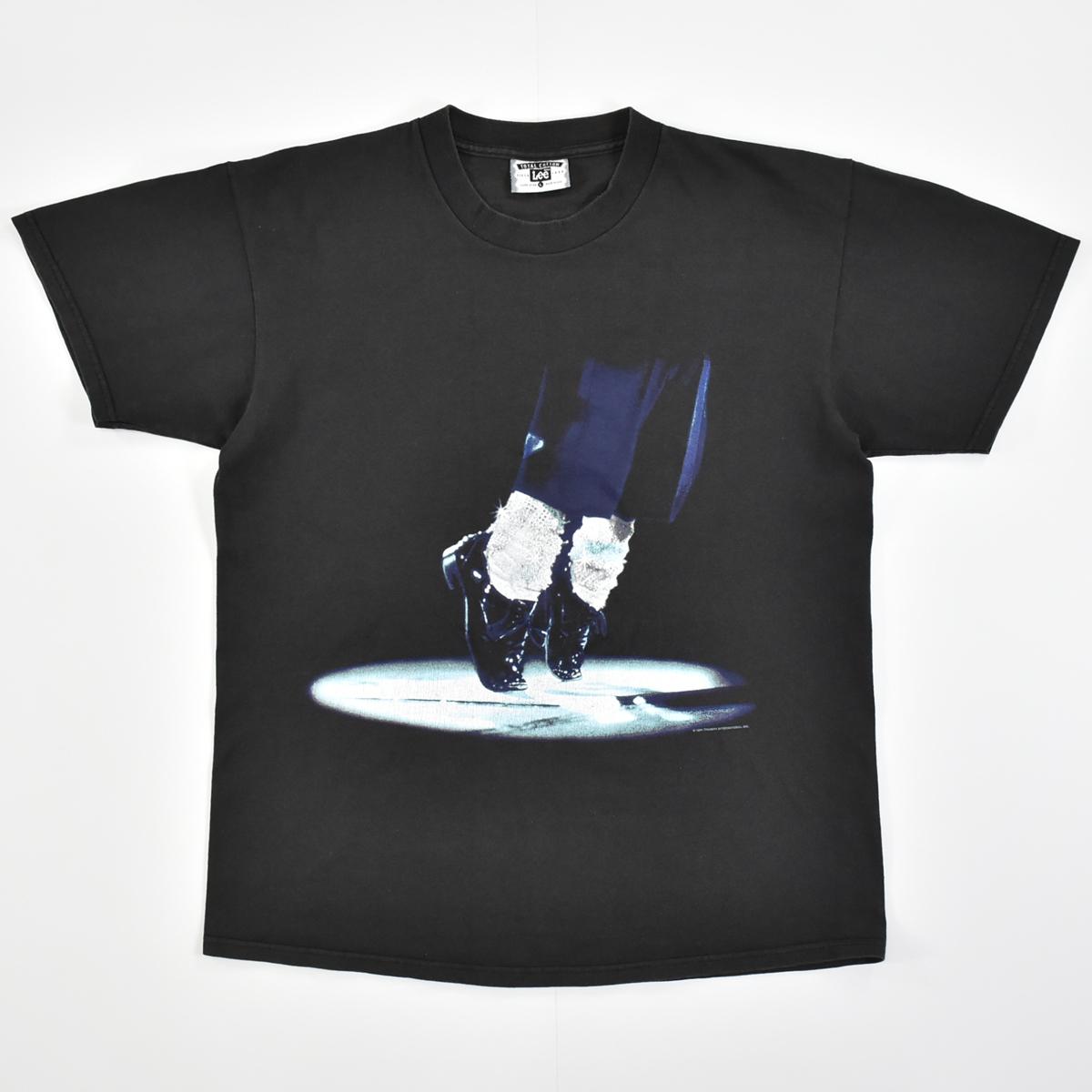 Michael Jackson マイケルジャクソン ★ リー Leeボディ USA製 ヴィンテージ 90s 1994 HISTORY コピーライト有 半袖 Tシャツ 黒 L_画像2