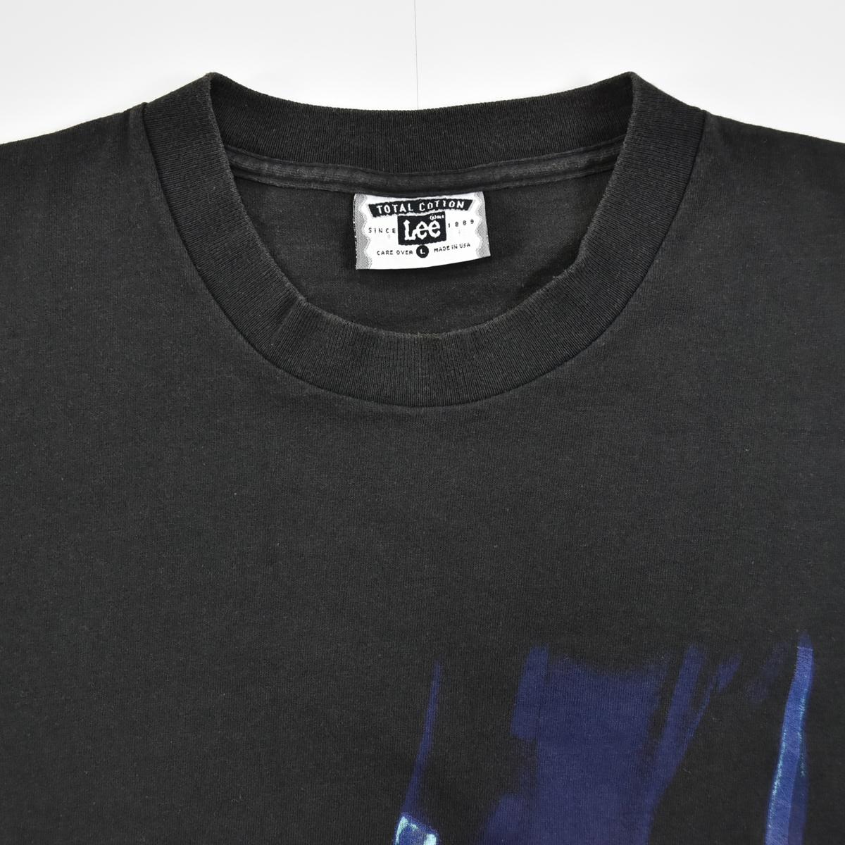 Michael Jackson マイケルジャクソン ★ リー Leeボディ USA製 ヴィンテージ 90s 1994 HISTORY コピーライト有 半袖 Tシャツ 黒 L_画像4