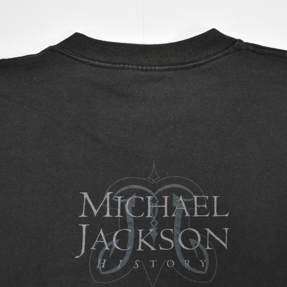 Michael Jackson マイケルジャクソン ★ リー Leeボディ USA製 ヴィンテージ 90s 1994 HISTORY コピーライト有 半袖 Tシャツ 黒 L_画像5