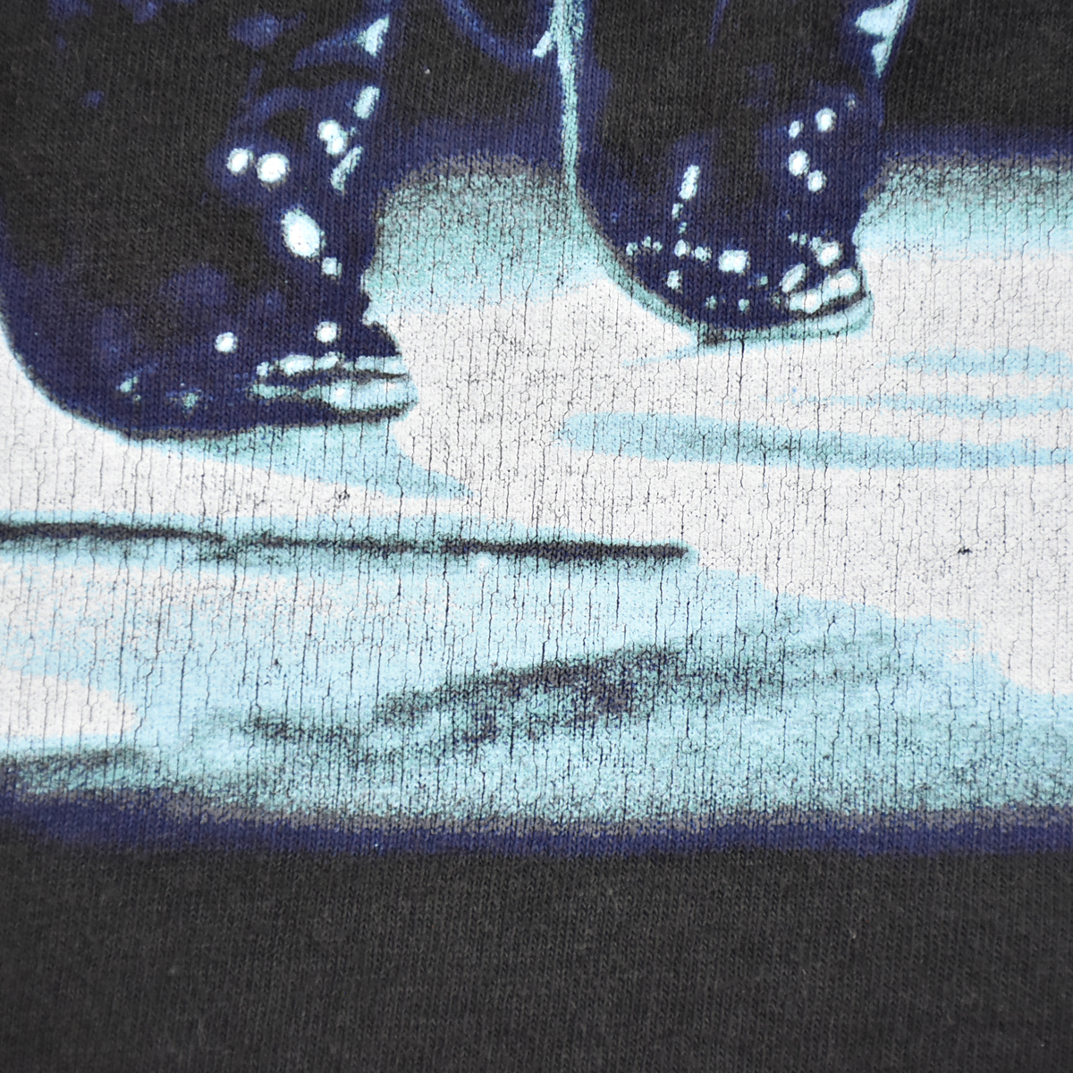 Michael Jackson マイケルジャクソン ★ リー Leeボディ USA製 ヴィンテージ 90s 1994 HISTORY コピーライト有 半袖 Tシャツ 黒 L_画像8