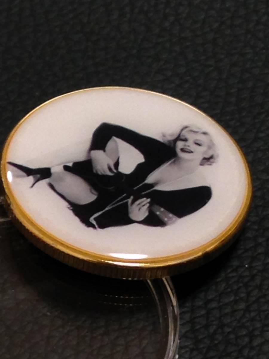 A46)海外丸形記念金貨、カラーコイン、メダル*アメリカスパースターマリリン・モンロー*参考品1枚 セクシー ノーマジーン_画像2