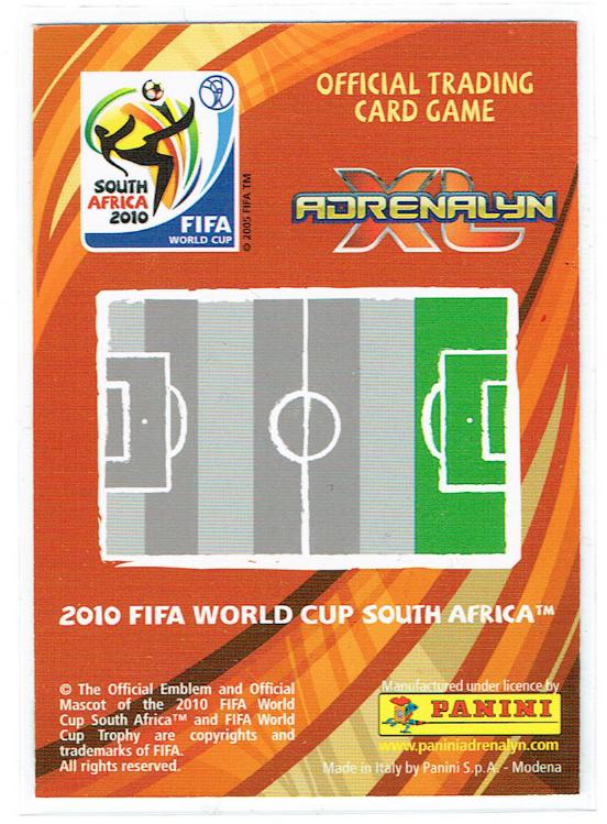 PANINI ★ 2010 FIFA WORLD CUP SOUTH AFRICA XL ADRENALYN ★ LIONEL MESSI(ARGENTINA)リオネル・メッシ ★ アルゼンチン代表_画像2