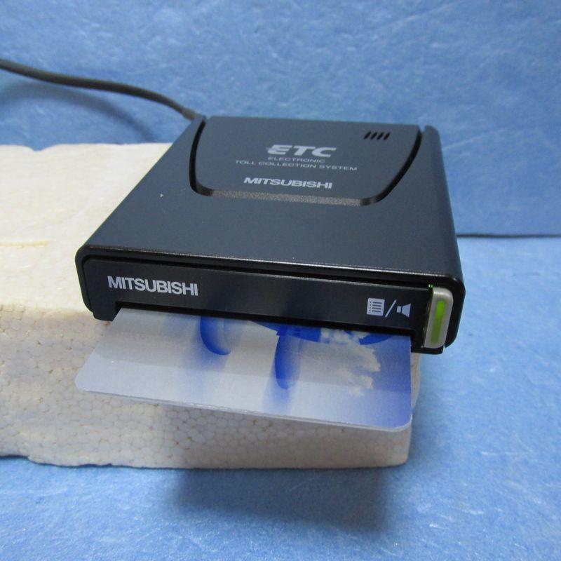 【軽自動車登録】三菱電機製 EP-9U512V アンテナ一体型ETC 【USB、シガープラグ対応】_画像1
