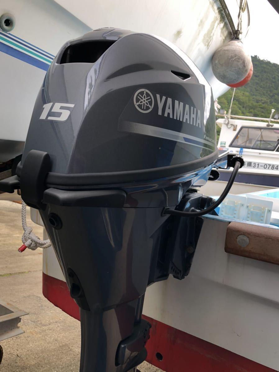 和船ヤマハw19船外機2019年ヤマハ15馬力_画像5