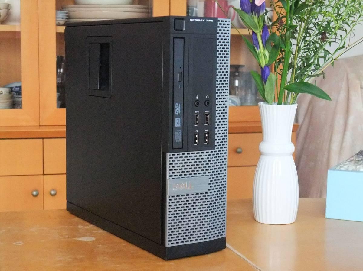 極速 i7-4790K 4.4Gx8/超大容量32Gメモリ/新品SSD1000G/HDD3TB/Office2019/Win10/USB3.0/税不要/領収証可/Optiplex7020