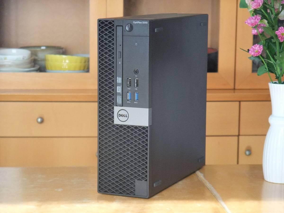 ★i7-6700K 4.2Gx8/超大容量32Gメモリ/新品SSD1TB/HDD3TB/Office2019/Win10/USB3.0/税不要/領収証可/Optiplex5040