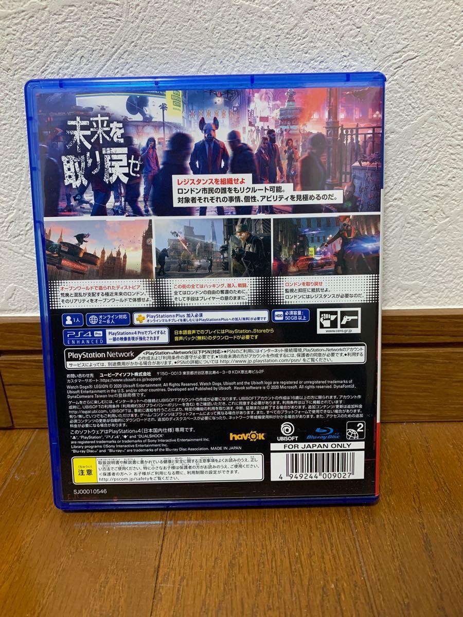 【PS4】 ウォッチドッグス レギオン [アルティメットエディション]   特典コード未使用