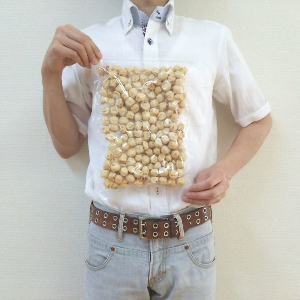 クラッカーピーナッツ 500g チャック袋 500gX1袋 九州工場製造品 黒田屋_画像4