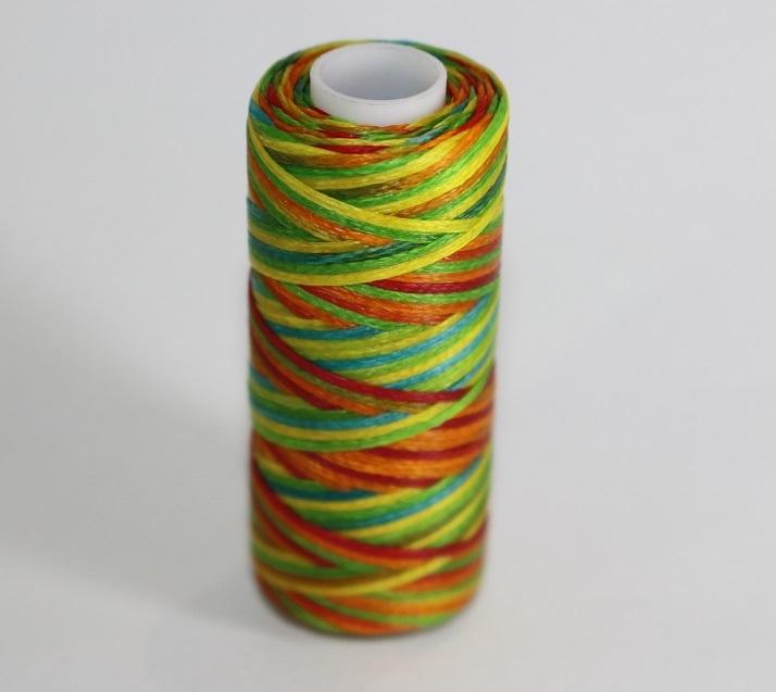 ワックスコード蝋引き糸まとめロウ引き糸人気8色セットポリエステルろう引き糸レザークラフトスレッド革細工ハンドメイド手作りアクセサリ
