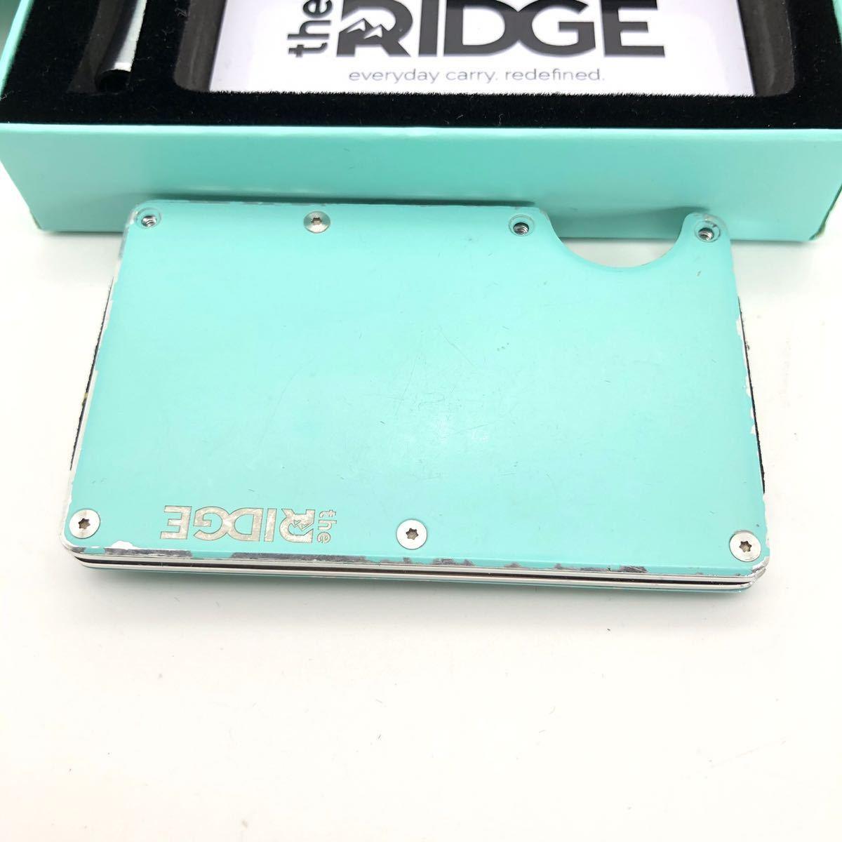 the RIDGE ザリッジ カードケース マネークリップ 財布_画像2