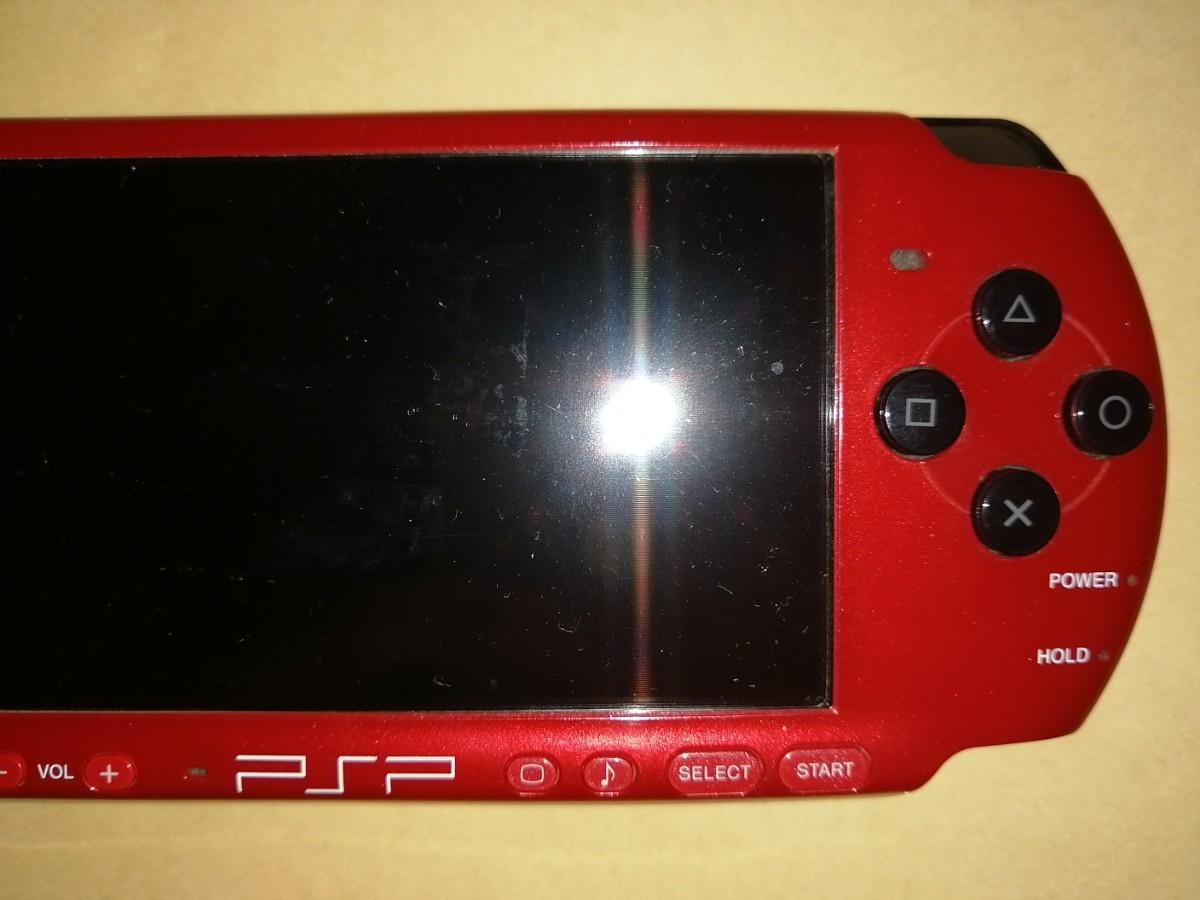 PSP-3000 本体 レッド ブラック