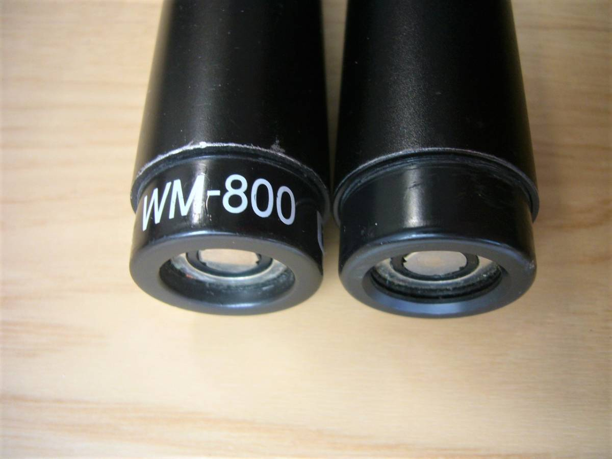 ♪ BMB 電波式ワイヤレスマイク WM-800 中古品 2本セット ♪_画像4