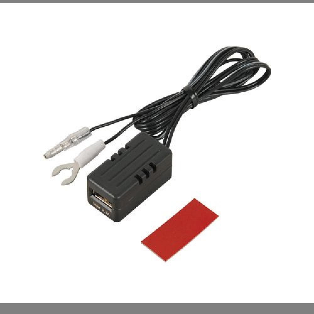 ▲即決♪後部座席延長用(充電用) エーモン USB電源ポート MAX2.1A 後部座席延長用 2880_画像1
