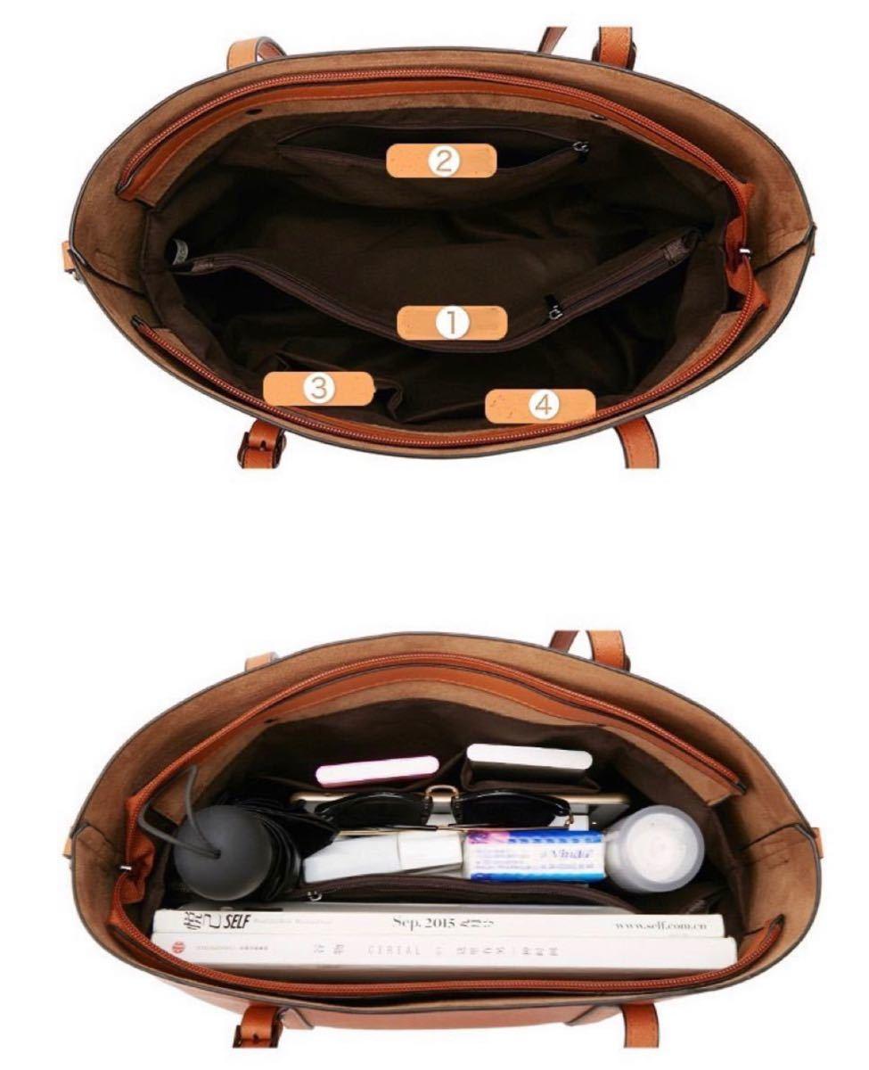 トートバッグ ショルダーバッグ 高品質 2way レディースバッグ 大容量