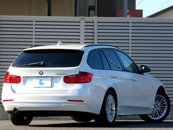 BMW 320dブルーパフォーマンス ツーリング ラグジュアリー 内外美車/不具合&修復無し/車検R4年3月【黒革/HDDナビ/BT/USB/ETC/Bカメラ/HID】_BMW320dブルーPツーリング ラグジュアリー