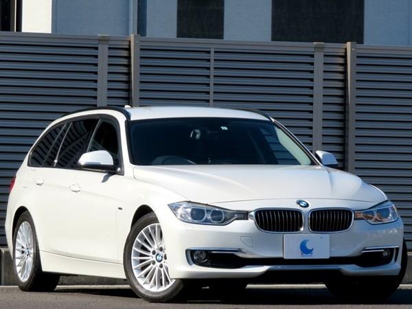 BMW 320dブルーパフォーマンス ツーリング ラグジュアリー 内外美車/不具合&修復無し/車検R4年3月【黒革/HDDナビ/BT/USB/ETC/Bカメラ/HID】_お問い合わせTEL:0586-82-0288