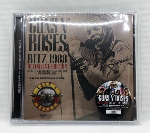 【定番!】ZODIAC-428: GUNS N' ROSES - RITZ 1988 DEFINITEVE EDITION: 2020 REMASTER [ガンズ、アクセル、スラッシュ]_画像1