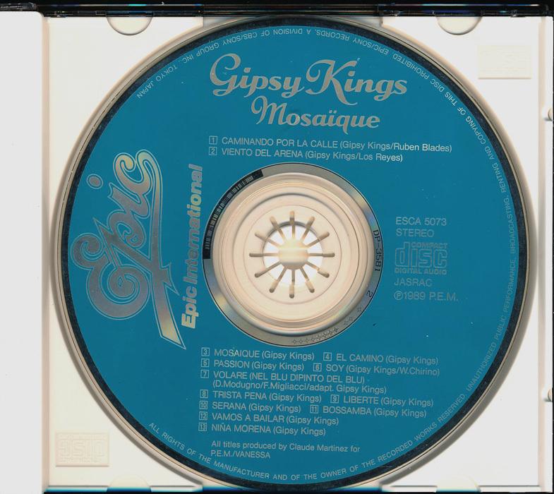 70年洋楽┃ジプシー・キングス│Gipsy Kings■モザイク│Mosaique■ESCA-5073■管理CD5203_画像5