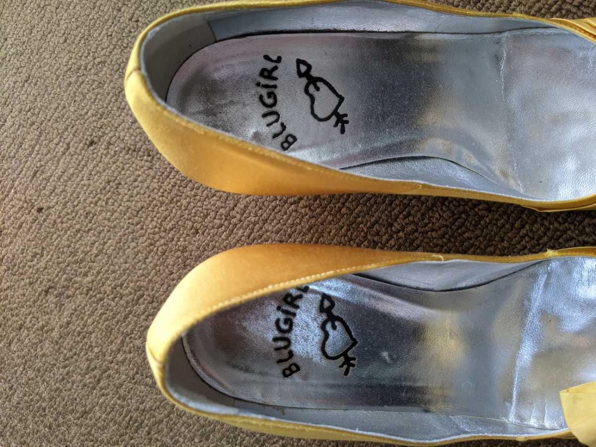 ブルーガール パンプス 靴 36_画像4