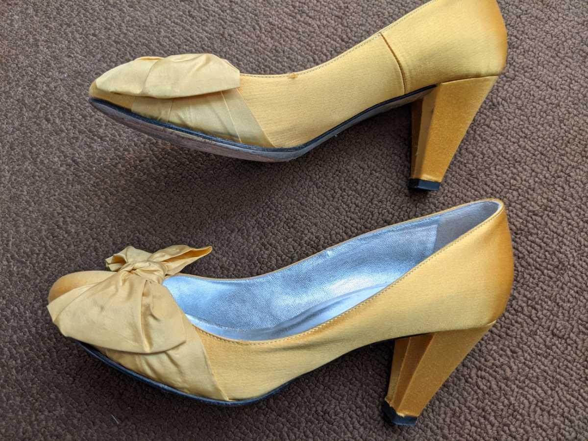 ブルーガール パンプス 靴 36_画像5
