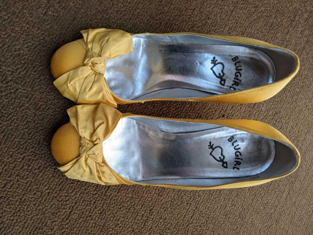 ブルーガール パンプス 靴 36_画像2