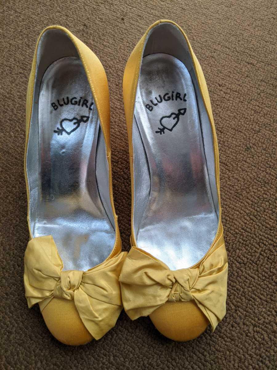 ブルーガール パンプス 靴 36_画像1