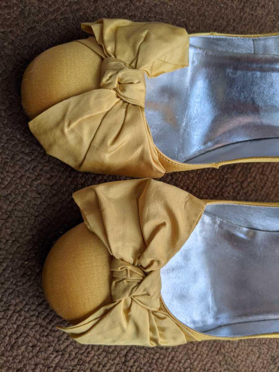 ブルーガール パンプス 靴 36_画像3
