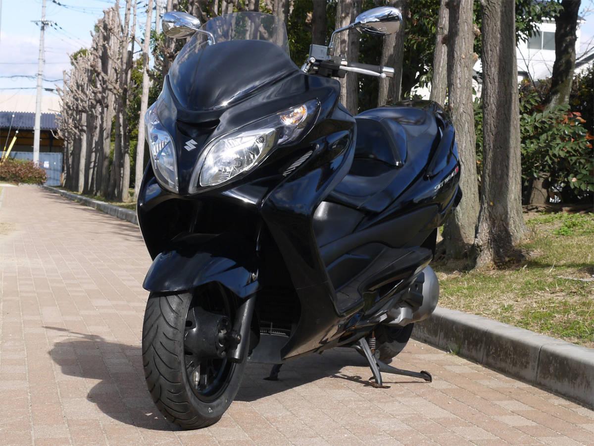 「(大阪より) スカイウェイブ スカイウェーブ (CJ46A)!14,228km!メタリックブラック!」の画像1
