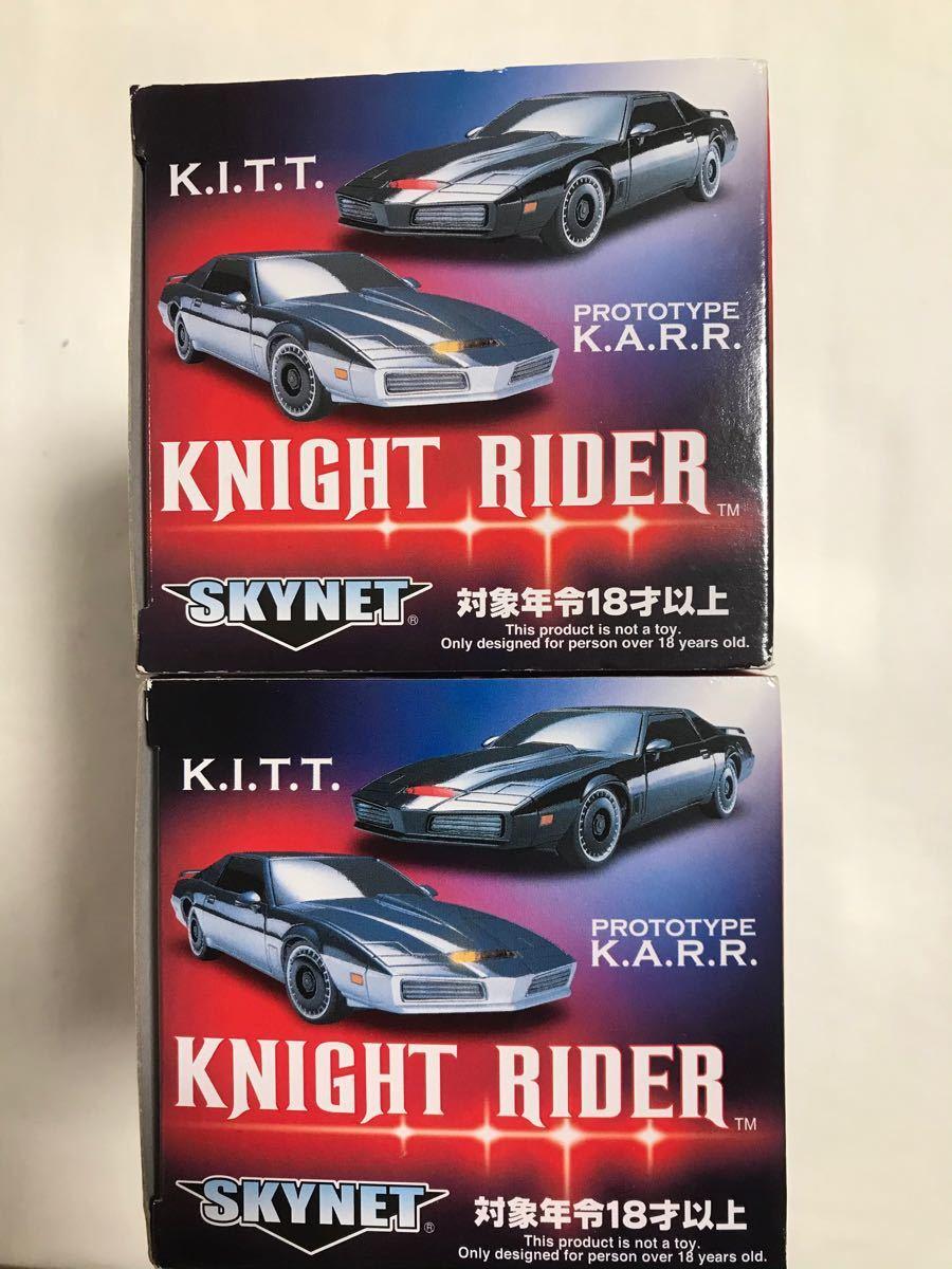 ミニッツ ナイトライダー 2台 K.I.T.T. & K.A.R.R. ボディ
