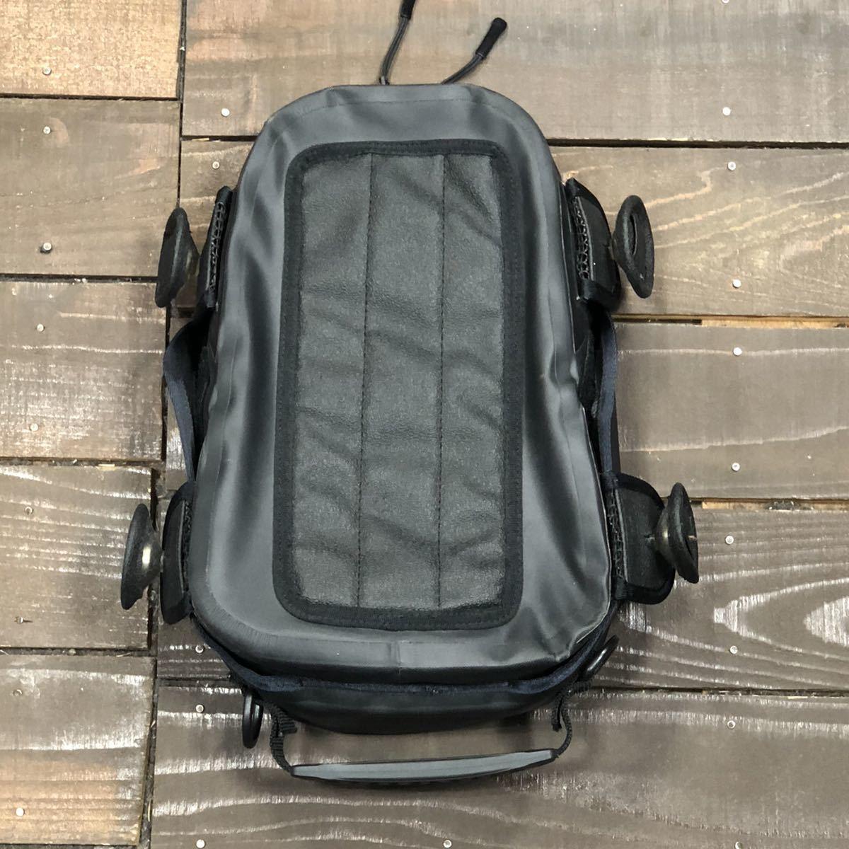 HONDA ホンダ スポルトシート バッグ バイク 中古 使用感あり 止水ジップ ブラック 黒_画像2