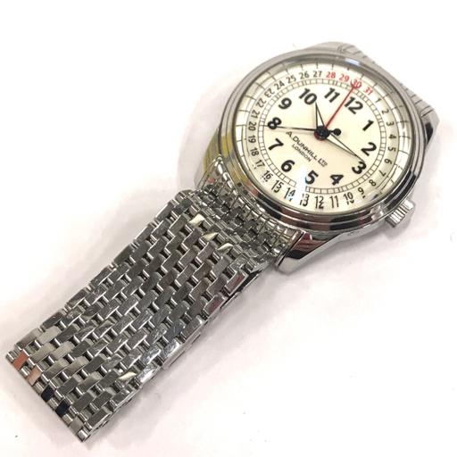 ダンヒル 腕時計 A-セントリック A-Centric DCZ400L 白文字盤 自動巻き メンズ 純正ベルト 稼働 付属有 dunhill_画像7