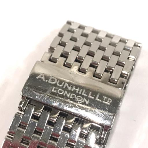 ダンヒル 腕時計 A-セントリック A-Centric DCZ400L 白文字盤 自動巻き メンズ 純正ベルト 稼働 付属有 dunhill_画像3