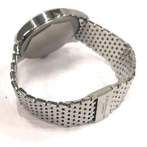 ダンヒル 腕時計 A-セントリック A-Centric DCZ400L 白文字盤 自動巻き メンズ 純正ベルト 稼働 付属有 dunhill_画像5