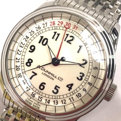 ダンヒル 腕時計 A-セントリック A-Centric DCZ400L 白文字盤 自動巻き メンズ 純正ベルト 稼働 付属有 dunhill_画像1