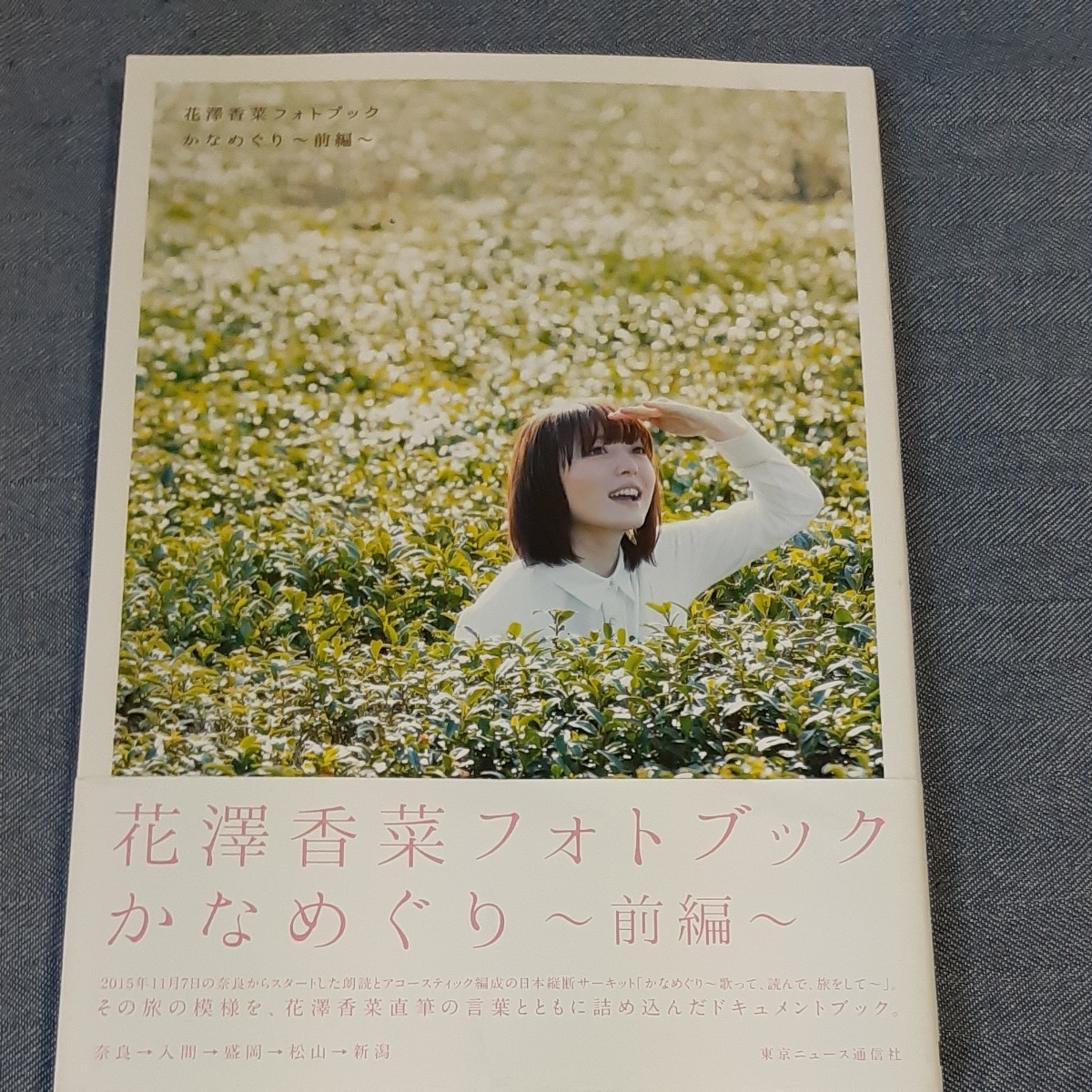 花澤香菜 フォトブック かなめぐり  写真集
