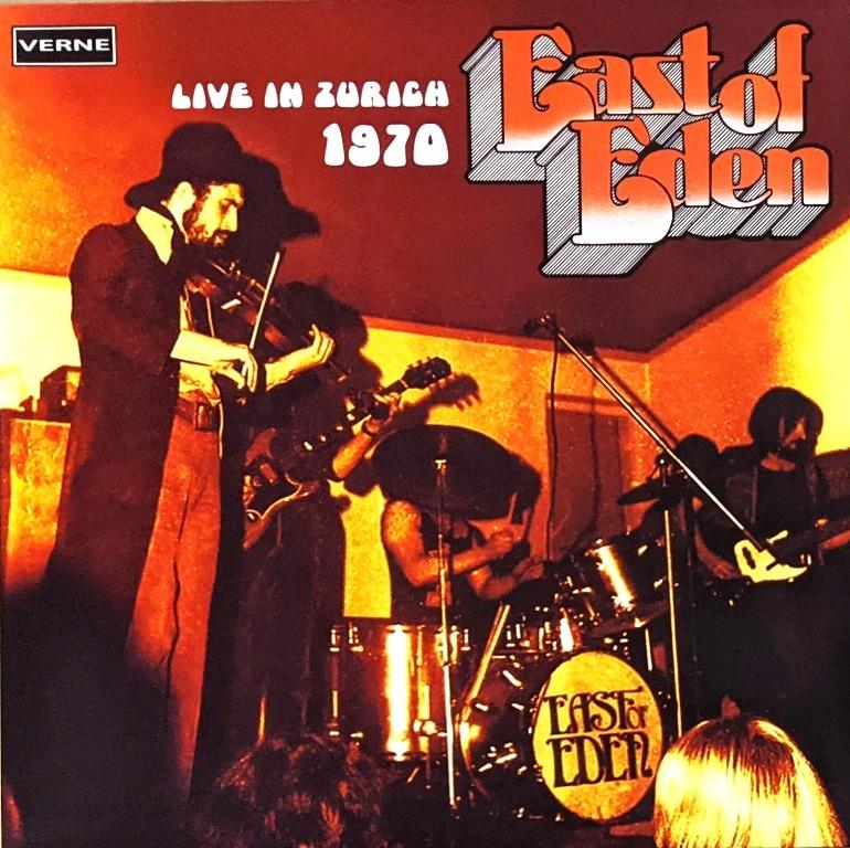 East Of Eden イースト・オブ・エデン - Live In Zurich 1970 限定二枚組アナログ・レコード