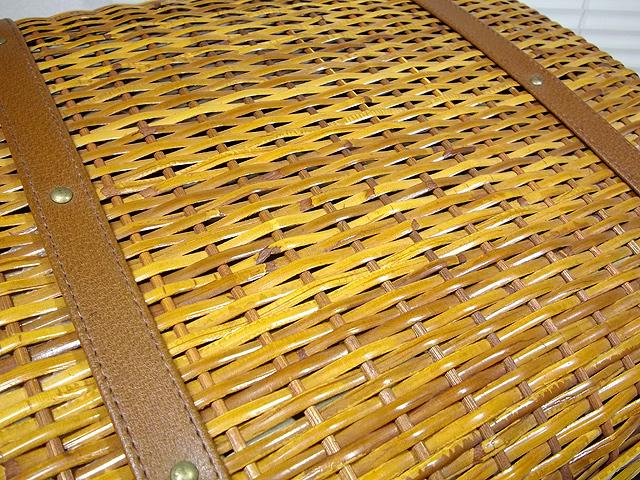 ラタン 籐編み かごバッグ ボストンバッグ 手提げハンドバッグ トランク アタッシュケース ダレスバッグ_画像7