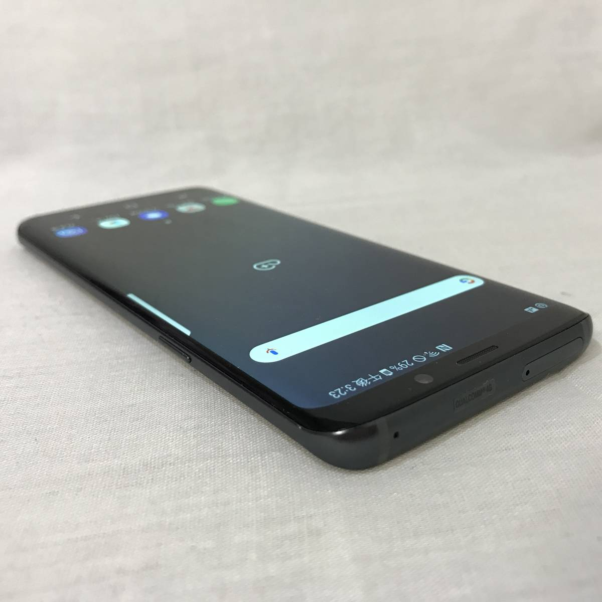 超美品 画面焼けなし SIMロック解除済み 元au SCV38 SAMSUNG Galaxy S9 グレー SIMフリー 判定○ 送料無料 /YZX5156_画像6