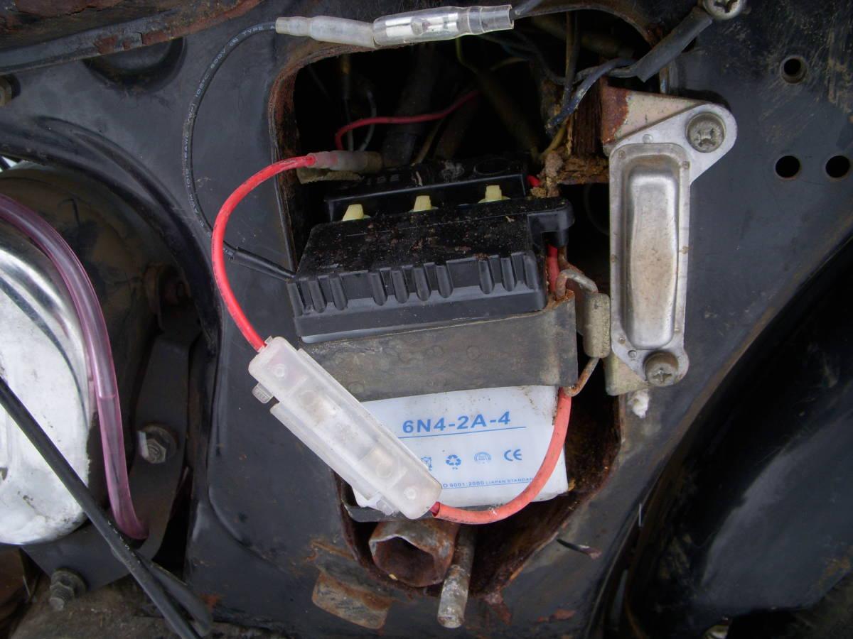 ヤマハYB50 F5B 6V 鍵/販売証明付き_画像6