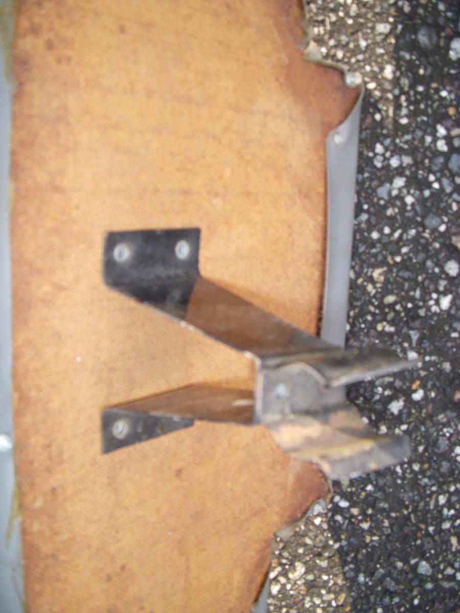 空冷VW ワーゲン タイプ2 1964~1967 リアシートキックパネル ボードは純正_画像8